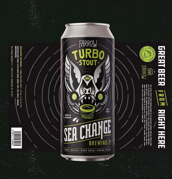 Turbo Stout | Sea Change Brewing |Summit Labels