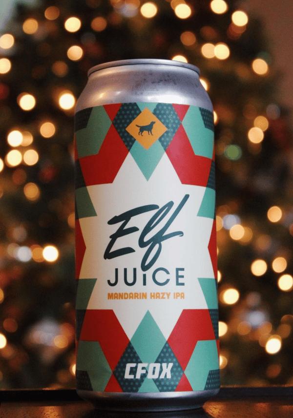 Elf Juice | Summit Labels | Yellow Dog
