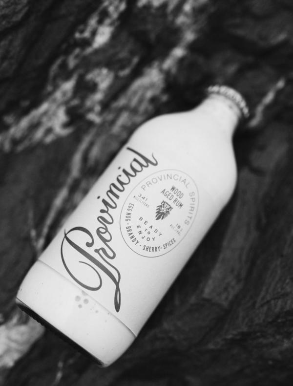 Bottled Egg Nog | Provincial Spirits | Summit Labels